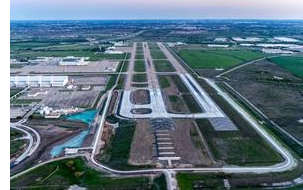 Alliance Airport from the air