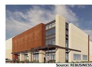 Ranch 46 Logistics Center rendering