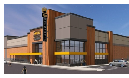 Rendering of Flix Brewhouse in Mansfield