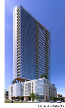 Rendering of the Worth