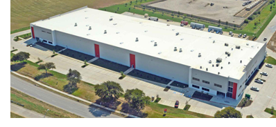 Turnkey industrial property leased in CentrePort VII in Fort Worth.