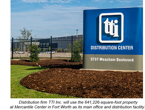 TTI Inc opens in Fort Worth