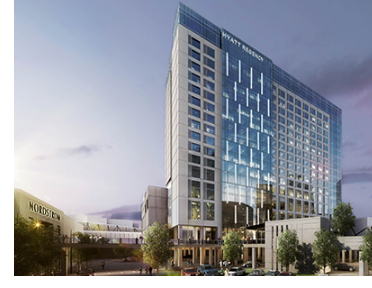 Rendering of The Hyatt Regency Stonebriar