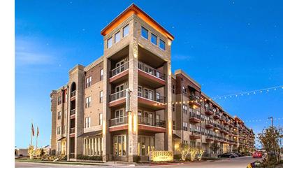The Jefferson Stonebriar apartments.