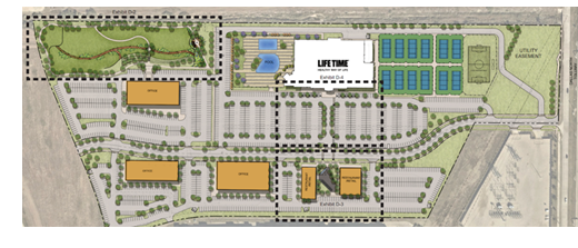 Site plans for the development.