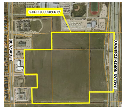 Proposed site for Railhead mixed-use project