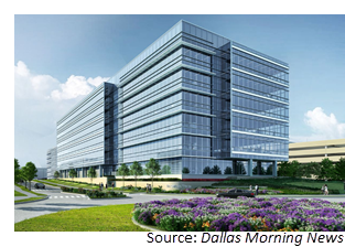 The Offices Three at Frisco Station rendering