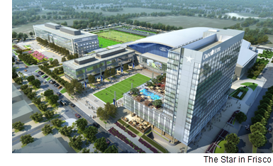 A rendering of the Star in Frisco