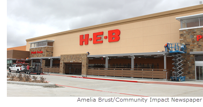 The new Cross Creek Ranch H-E-B in Fulshear confirmed its opening February 16, 2018.