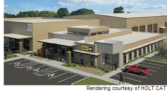 Rendering of HOLT CAT facility