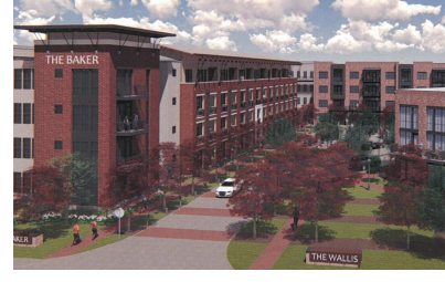 Rendering of The Baker development