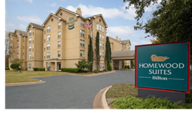A Homewood Suites by Hilton in Austin, Texas.