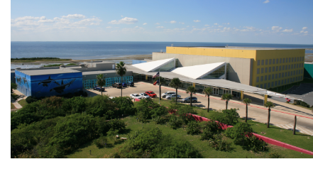 Pictured: the South Padre Island Convention Center.