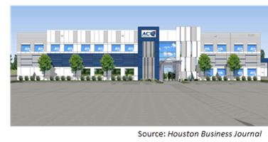 rendering of the expansion project.