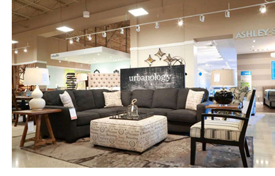 Ashley HomeStore operates 14 locations in the Houston market with the recent openings of new stores at 9000 San Jacinto Mall in Baytown, 3465 Gulf Freeway in Dickinson, and 100 Highway 332 West in Lake Jackson.