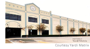 Asia Cabinetry's space is situated in one of the property's four buildings at 7875 Northcourt Rd.