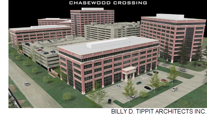 Rendering of Chasewood Crossing.