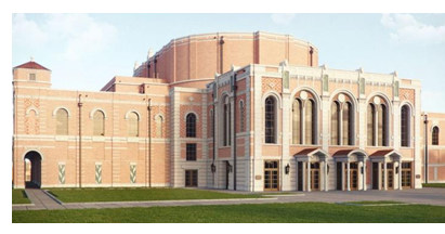 Rendering of Rice music hall