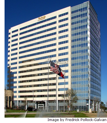 The 275,000 sf space is located in the Energy Tower II building at 11,720 Katy Fwy.