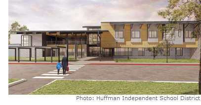 Falcon Ridge Elementary, the newest addition to Huffman ISD, will be ready for the 2018-19 school year.