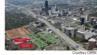 Map of where the project will be located.