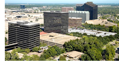 Lincoln Property Co. has revealed its plans to revitalize the former Exxon six-building office complex in the North Houston District.