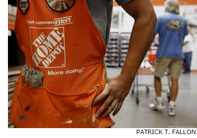 Home Depot signed a lease for 300,000 square feet of warehouse space in Houston to address demand for building supplies following Hurricane Harvey.
