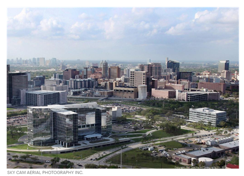 There is a lot of growth in the Texas Medical Center with a lot of plans for new hotels.
