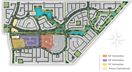 Site plans of Balmoral in Houston