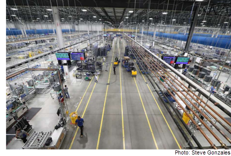 Picture of a factory in Houston