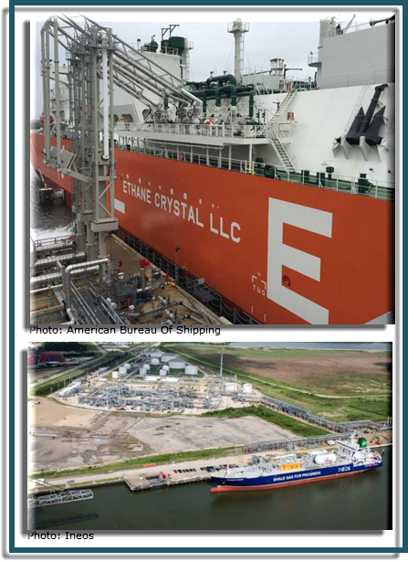 Enterprise Products Partners intends to build an ethyllene export terminal in Houston