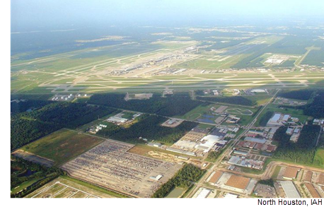 Picture of IAH and the North Houston industrial submarket