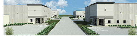 Rendering of the new industrial park being built in Houston