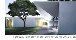 the 30,150-sf Menil Drawing Institute will open in November 2018.