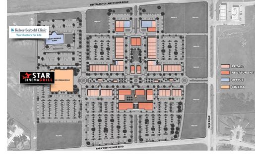 District West Cite Plan