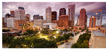 Picture of the Houston skyline