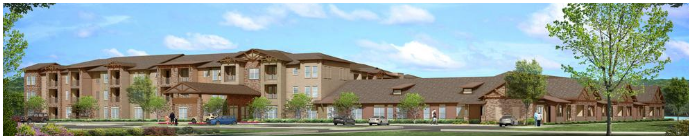 Phase II of Kingwood senior living development