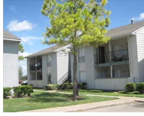 Picture of the Winding Trails apartment complex in Houston