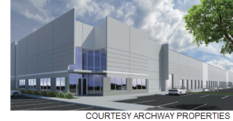 Rendering of the industrial facility.