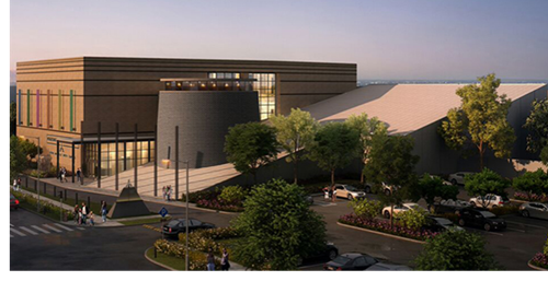 Rendering of the Houston Holocaust Museum