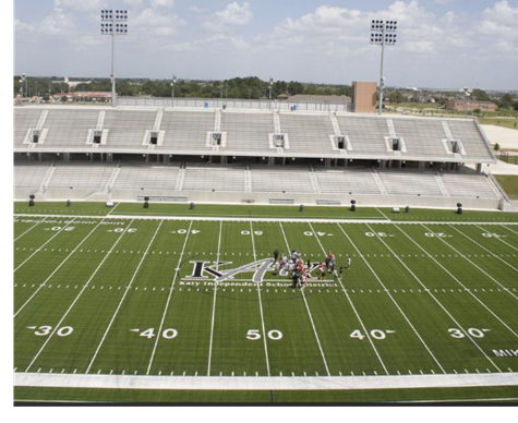 Picture of the new Legacy stadium in Katy