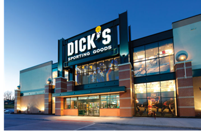 Picture of the new Dick's Sporting Goods store