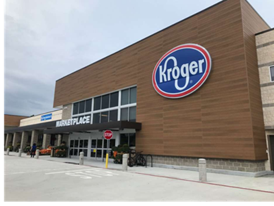 Picture of the new Kroger in Spring