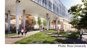 Rendering of the future School of Social Sciences.