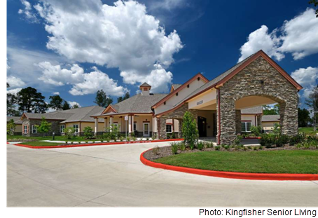 Picture of the Ella Springs Senior Living facility