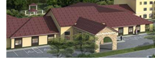 Rendering of the new Validus Nursing Home being built in Sugar Land