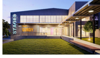 Image of the front of the Gordy