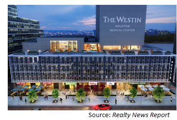 Rendering of the hotel.