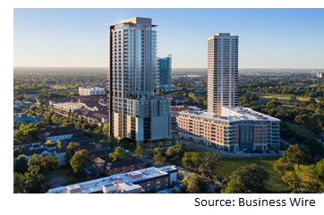 Rendering of Two Hermann Place.