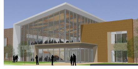Rendering of the new Houston Community College Campus in Missouri City
